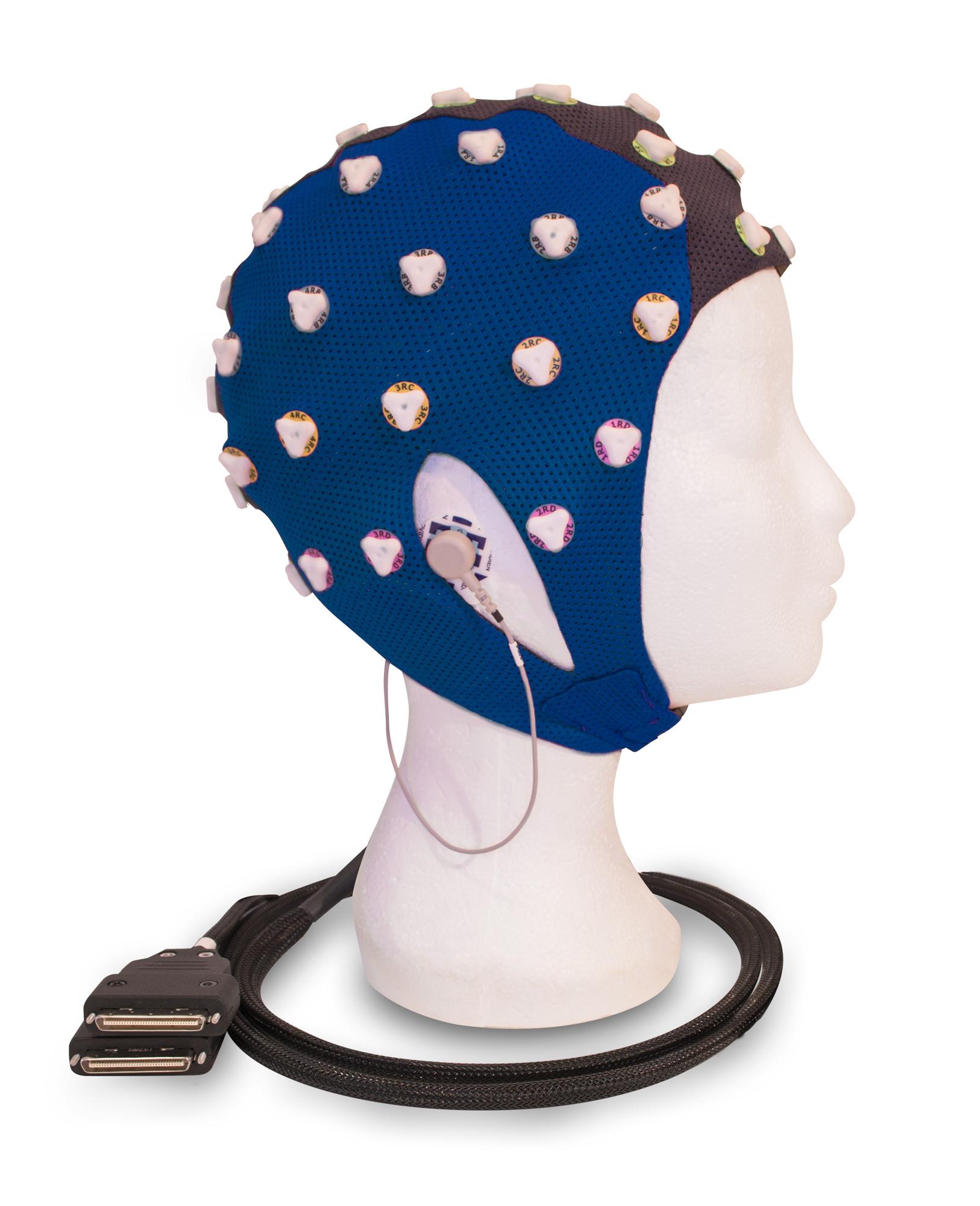dry electrode EEG cap, dry-electrode EEG cap
