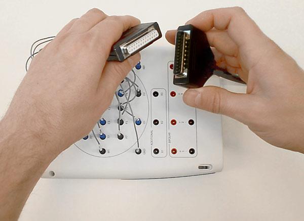 Straightforward connection to all major clinical EEG systems